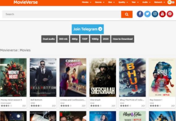 Movieverse: Download Latest Movies and TV Series   New 2021