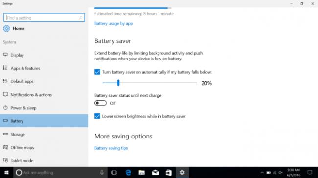How To Make Windows 10 Laptop Battery Last Longer (Battery saver)