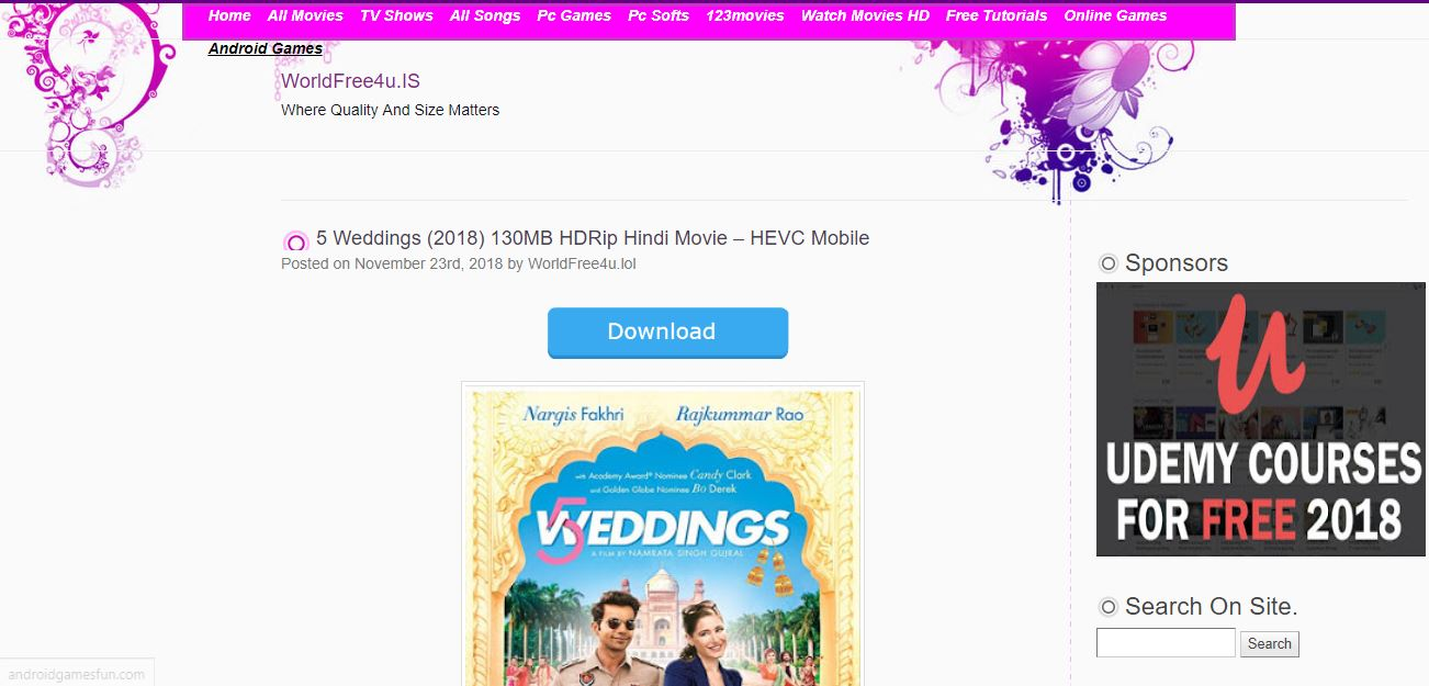 worldfree4u Mp4 Movies Free Download