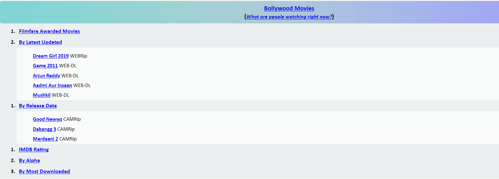 fz movies Bollywood