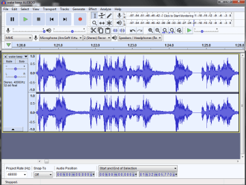 audio noise reduction with audacity