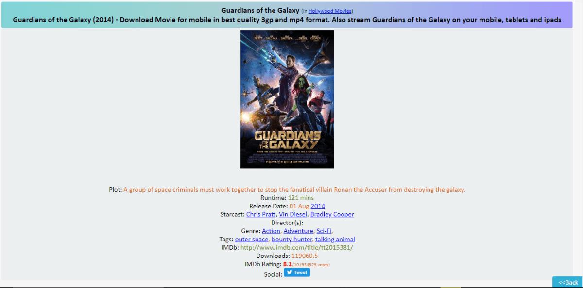 fzmovies-movie download site page