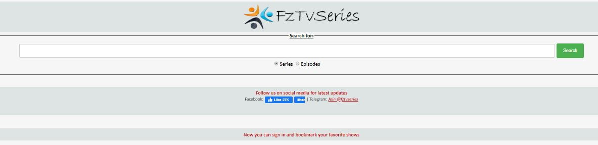 Fztvseries search
