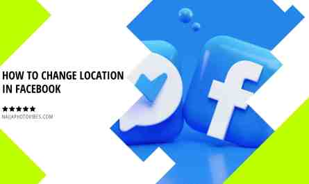 how to change location in facebook