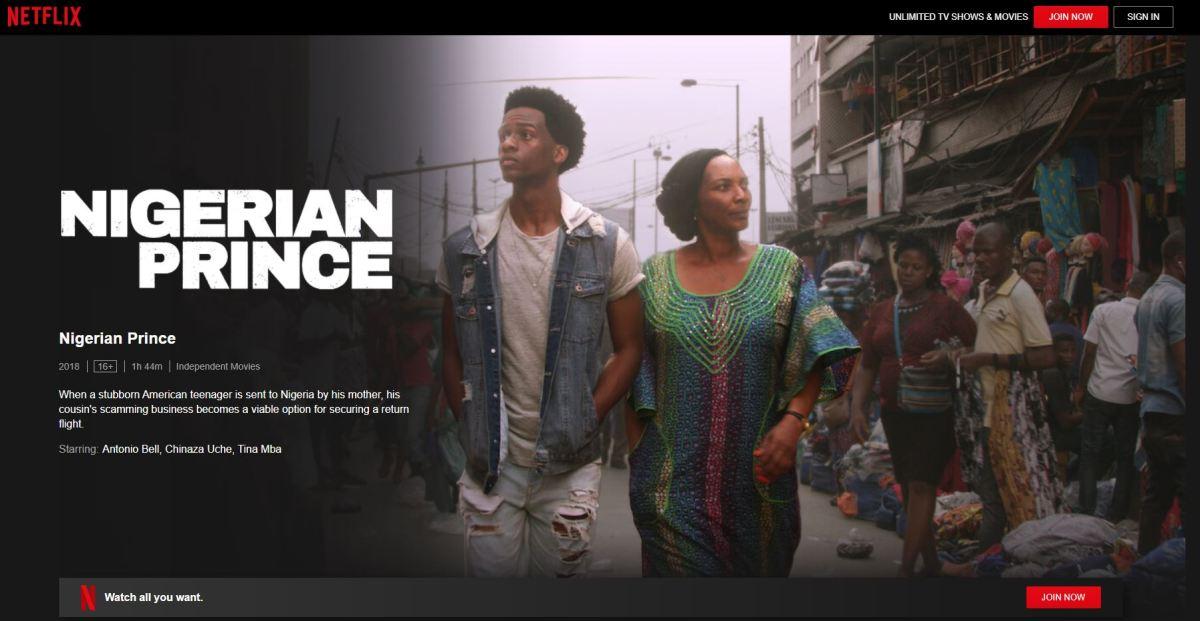 Nigerian Prince - Nollywood Movies on Netflix