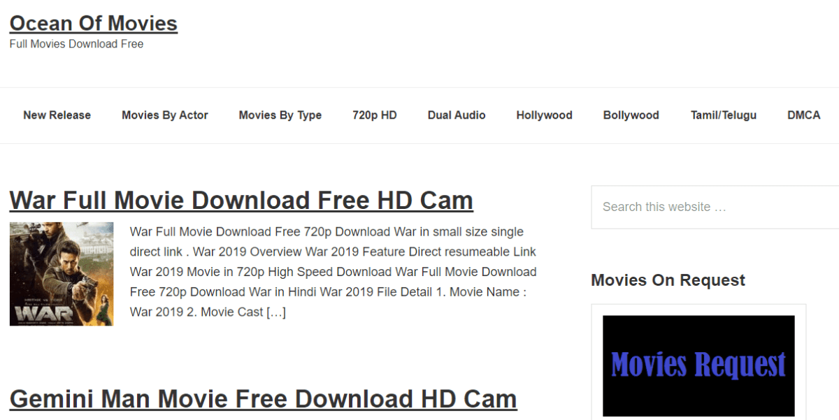 Top Free Movie Download Sites