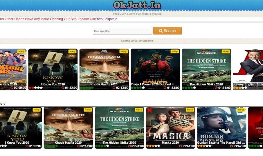 Okjatt Latest Action Movies 2020 – Okjatt Bollywood Movies