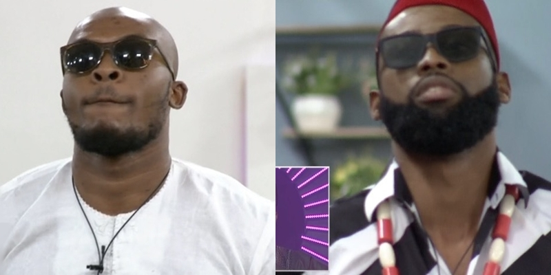 BBNaija: Eric And Tochi Have Been Evicted