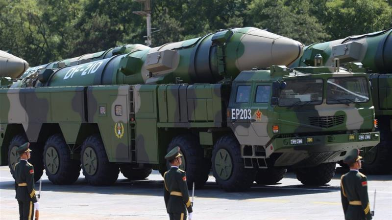 China Fires 'Aircraft-Karrier Killer' Missile In Warning To US