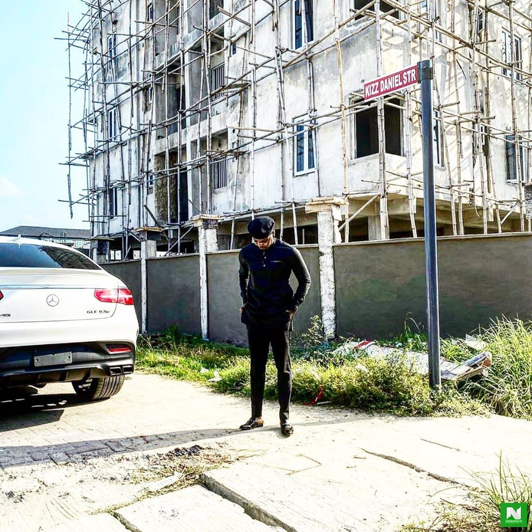 KIZZ Daniel Joins League of Street-Owning Celebrities In Haven Homes Estate