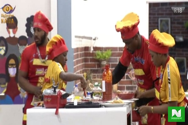 #BBNaija2020: Check Out How 14 Housemates Won N4 Million In Cooking Challenge
