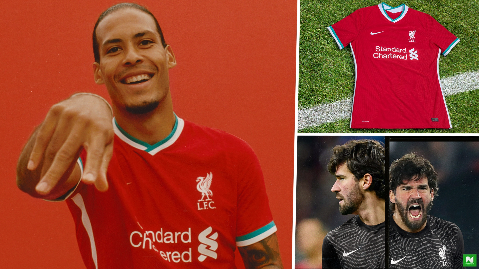 Liverpool's 2020-21 kit: New home and away jersey styles and release dates