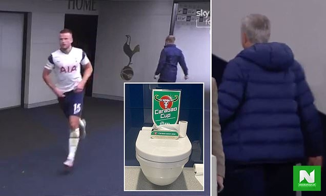 Tottenham Defender, Eric Dier Leaves Pitch During Chelsea Match To Use The Toilet