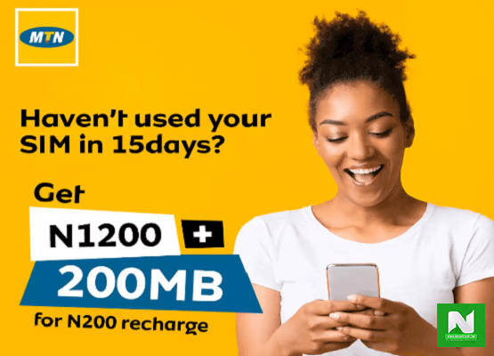 MTN WinBack Offer – Enjoy Massive Airtime and Data if You Haven't Use Your SIM in 15 Days
