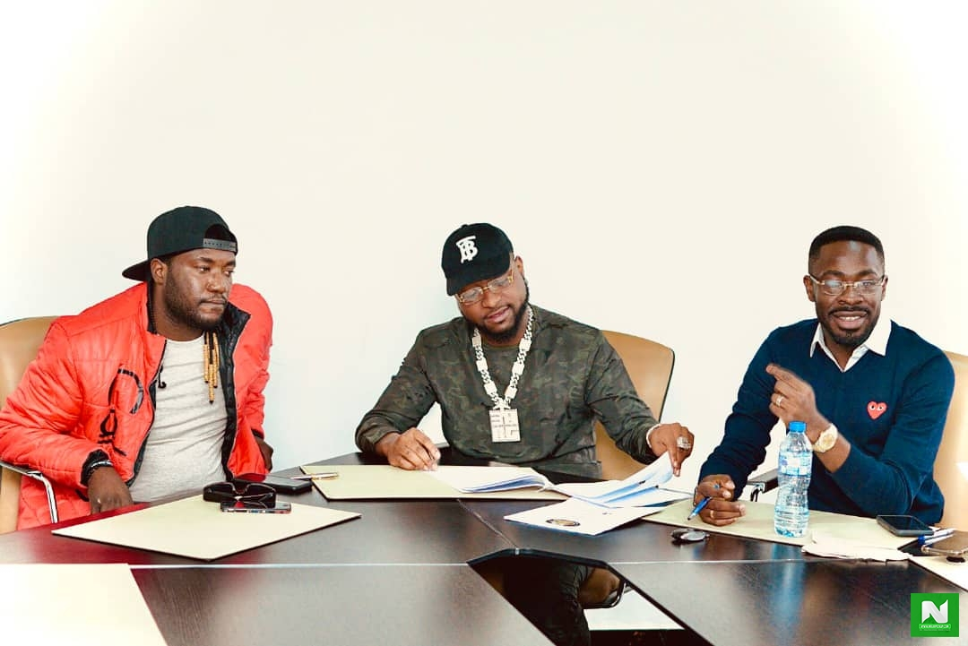 Davido Welcomes A New Member To The DMW Family