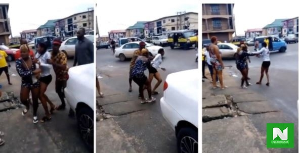 Lady Goes Mad After Alighting From Benz Car