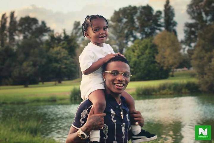 Wizkid's Babymama Reveals What Their Son Says When He Watches The Video Of 'Smile' On TV
