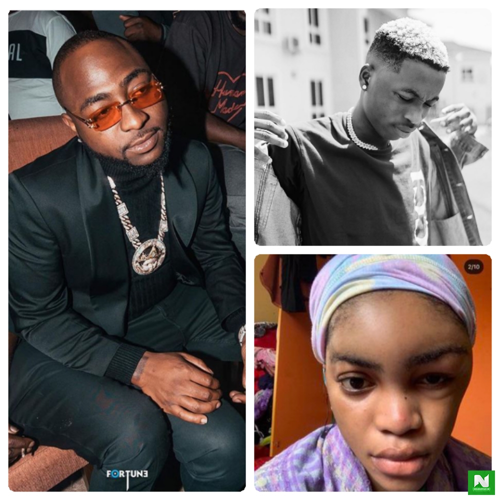 Davido Promises To Continue Supporting Lil Frosh Despite Terminating His Contract