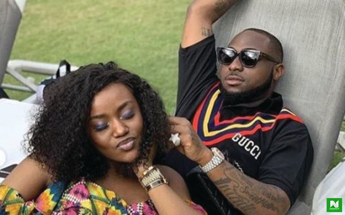 Davidos Girlfriend Chioma 'Looks Pregnant - See PHOTO