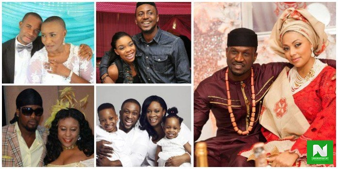 SEE Photos Of Nigerian Celebrities Who Got Married To Women Older Than Them
