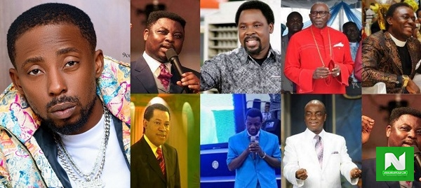 Erigga Shades Nigerian Pastors For Being Silent Over Killings By SARS Officers