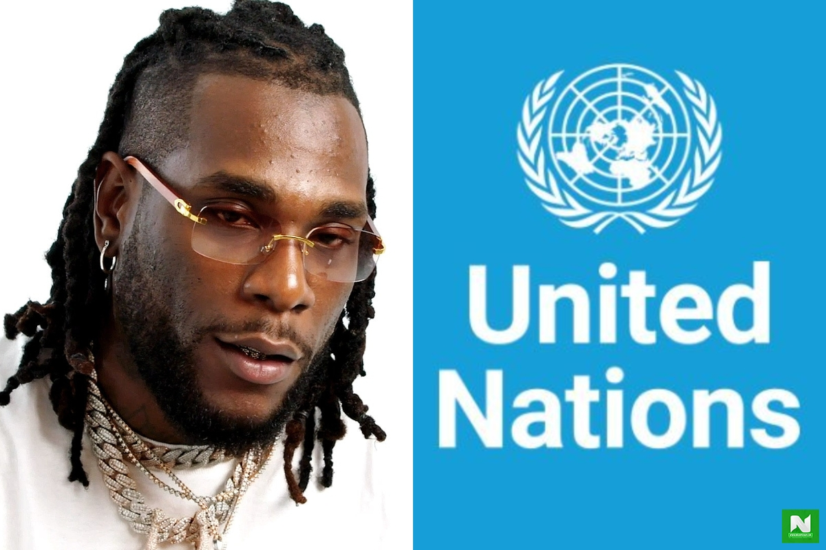 Burna Boy Calls On UN To Save Nigerians