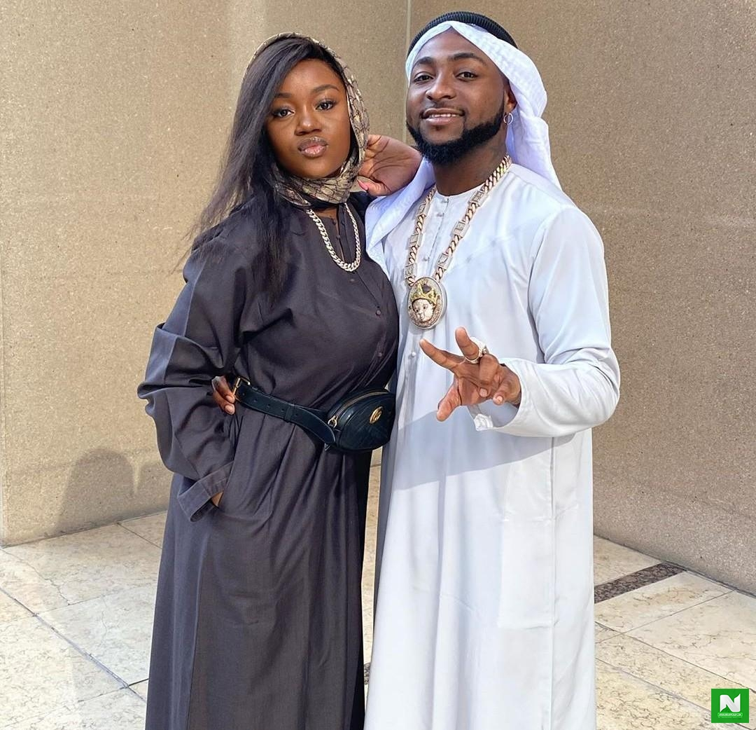 Davido's fiancee, Chioma allegedly denied US visa 8 times due to past criminal records