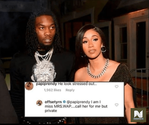 Offset Speaks On Divorce With Cardi B