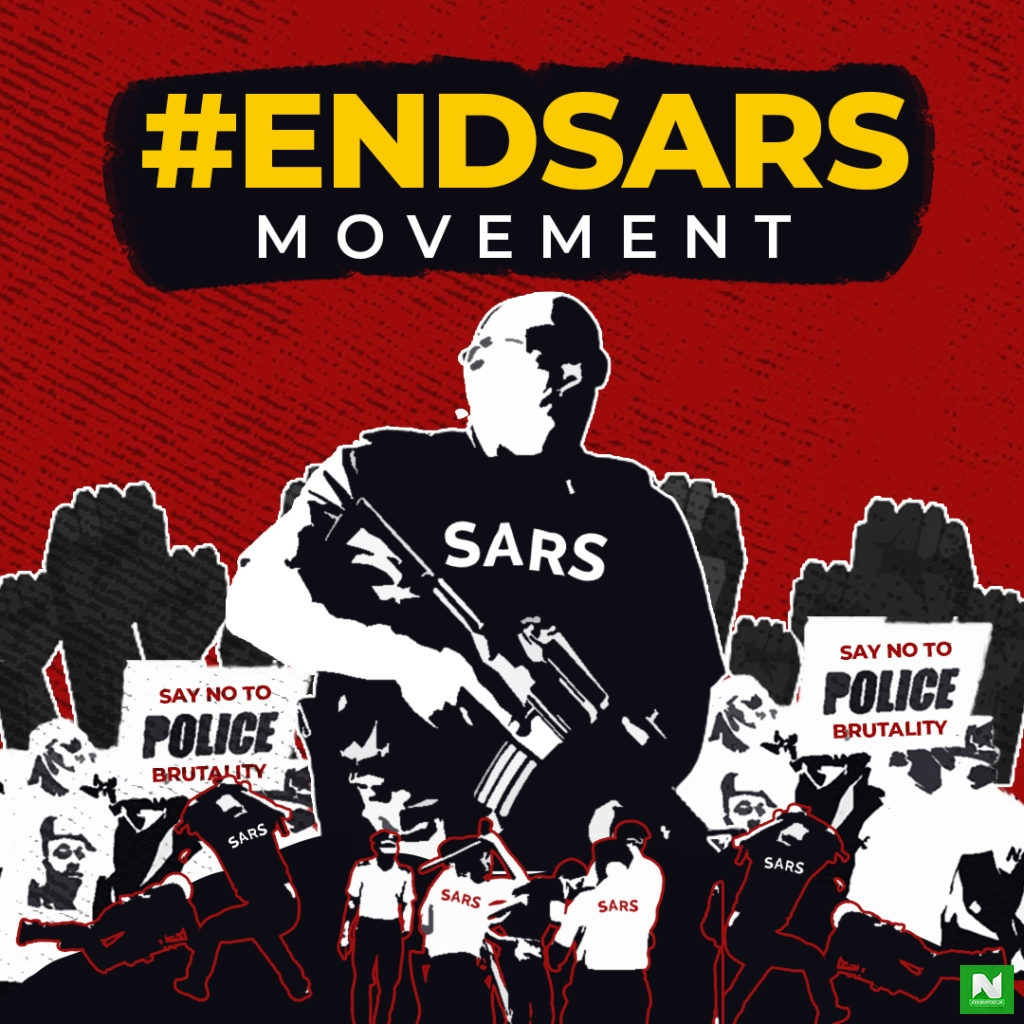 #EndSars: Chaos As Police Officers Open Fire At Peaceful Protesters In Surulere
