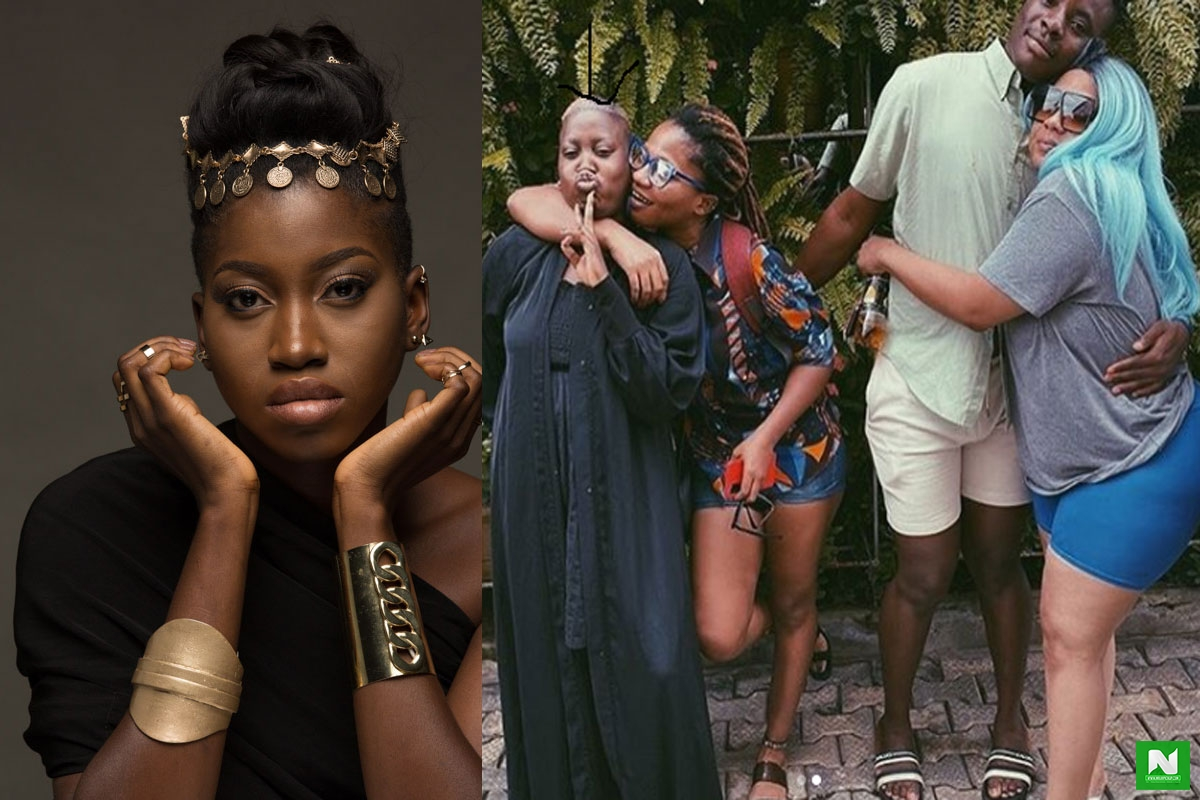 Olamide's YBNL Princess, Temmie Ovwasa Spotted At Lesbian And Gay Gathering In Lagos (VIDEO)
