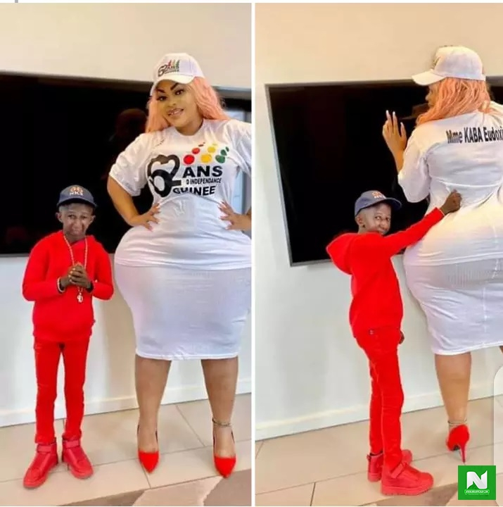 Alleged Viral Sekstape Video Of Grand P Chopping His Ivorian Plus-Size Model Eudoxie Pops Up