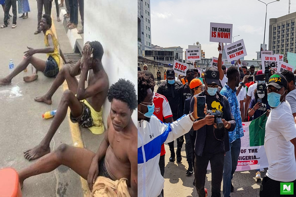 'I Was Paid 1500 Naira- Thug Who Attacked #EndSARs Protesters – Thug Confesses