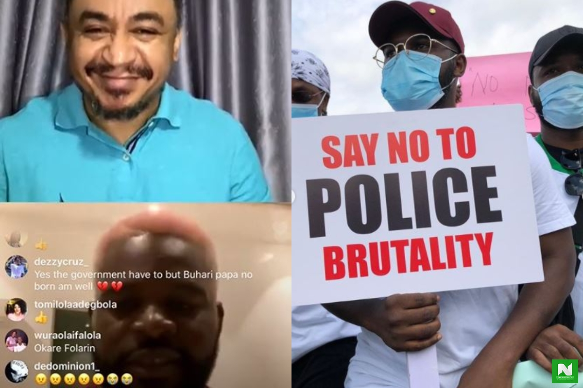 #EndSARS Protest: Give One Instance Where SARS Came To Rescue Armed Robbery Victims – Falz Asks (Video)