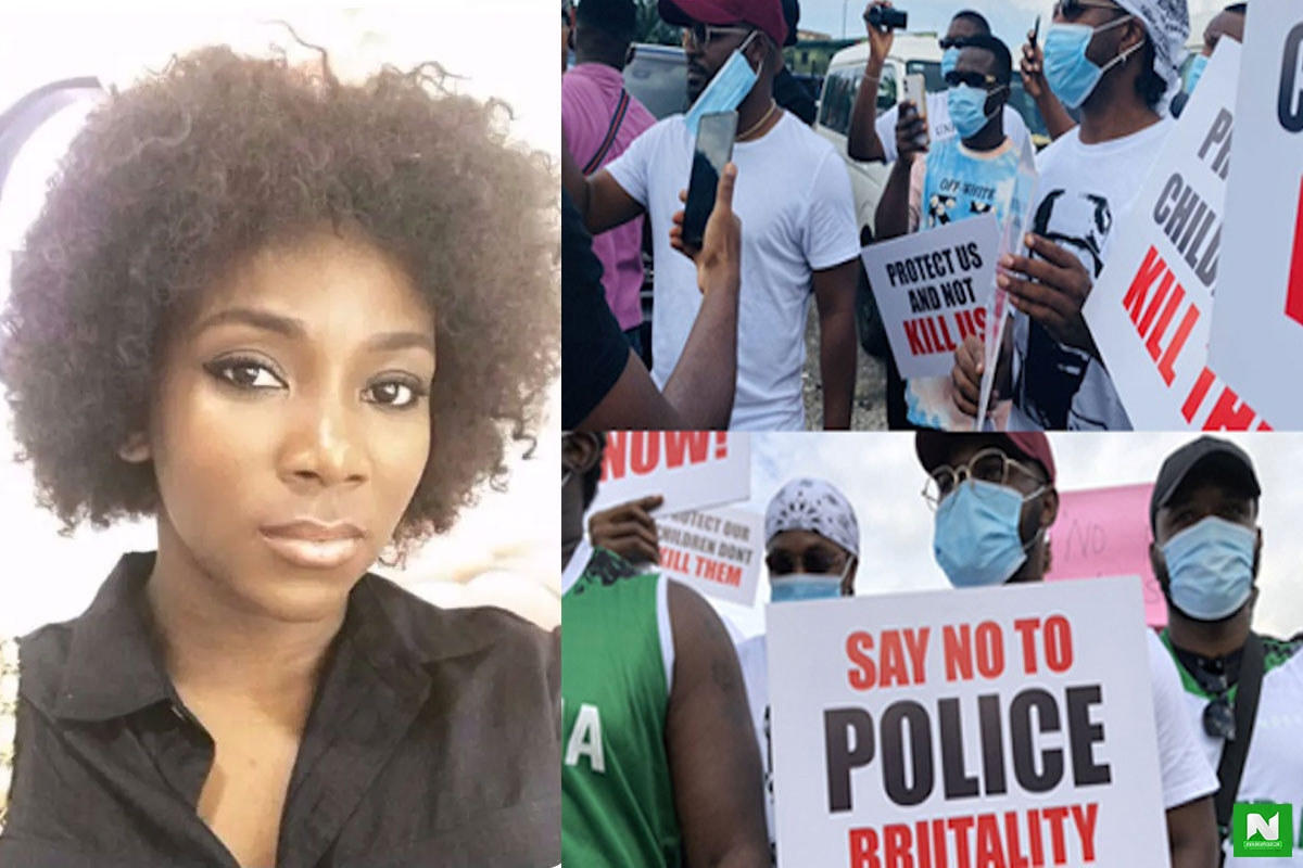 #EndSARS: Genevieve Nnaji Reacts To Arrest Of Protesters In Kano