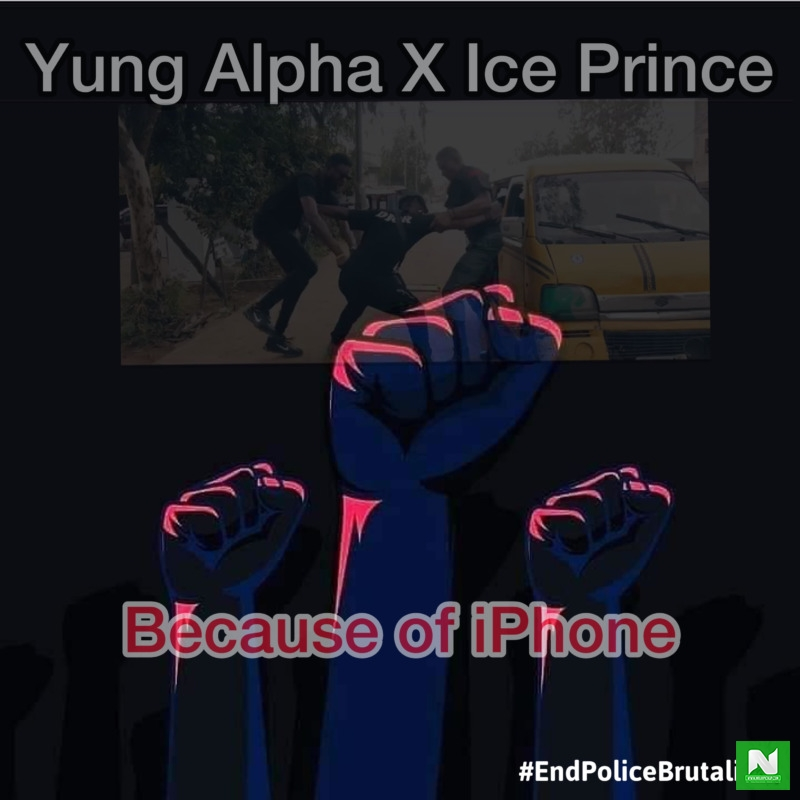 Yung Alpha - Because Of iPhone Ft Ice Prince