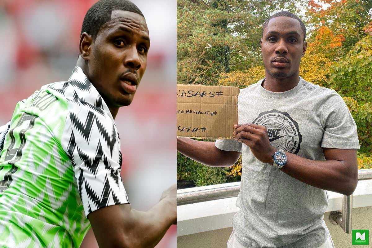 Manchester United Striker, Odion Ighalo Condemns The Shooting Of Protesters At Lekki