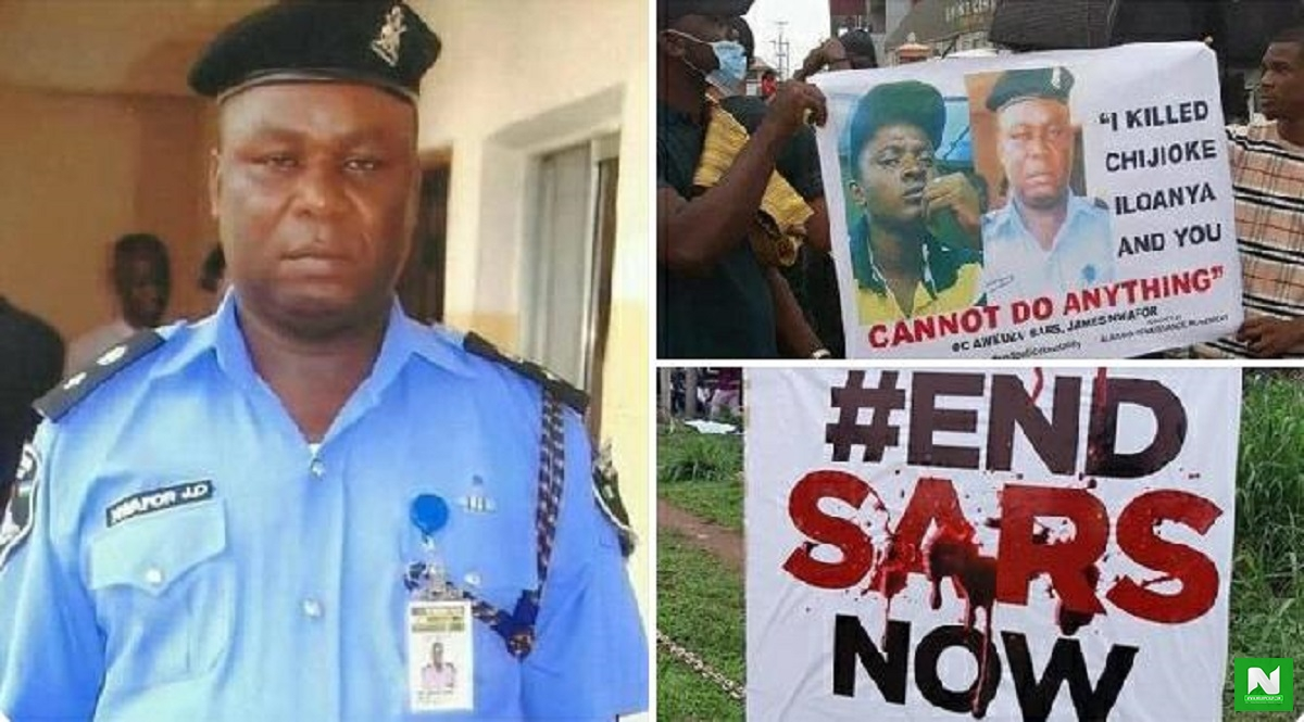 We Demand Justice Now - Peter Okoye Reacts To Photos Of Anambra SARS Officer Who Allegedly Killed Chijioke
