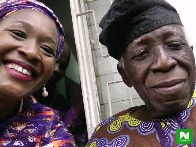 5 Years After She Threw Her Father Out of His Own House For Being A Ritualist, See Photos of Kemi Olunloyo's Father