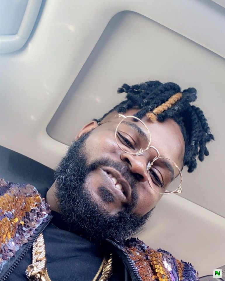 Falz Rocks New Hairstyle For An Upcoming Movie Role (Photos+Video)