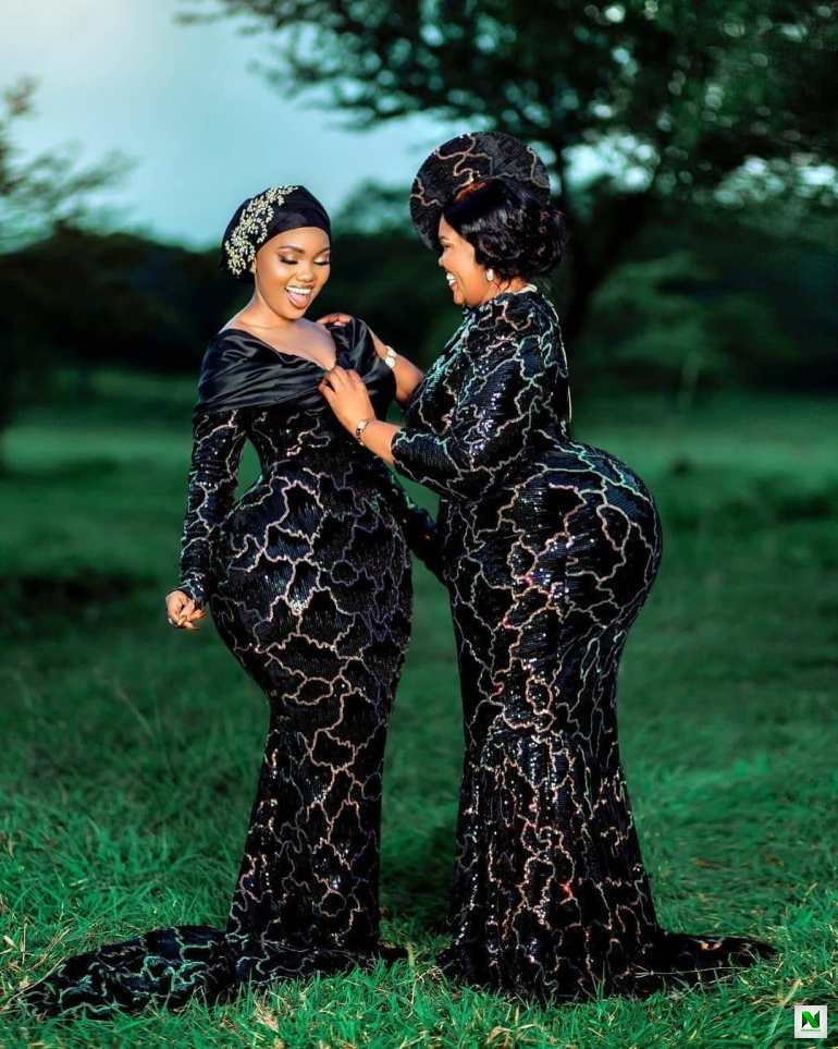 Curvy Tanzanian Model, Sanchi And Her Endowed Mom Causes Stirs On Social Media With Their Massive Backsides (Photos/Video)