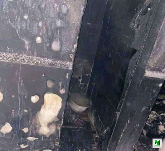 Fire Engulfs Sunday Igboho's Old House In Soka, Ibadan