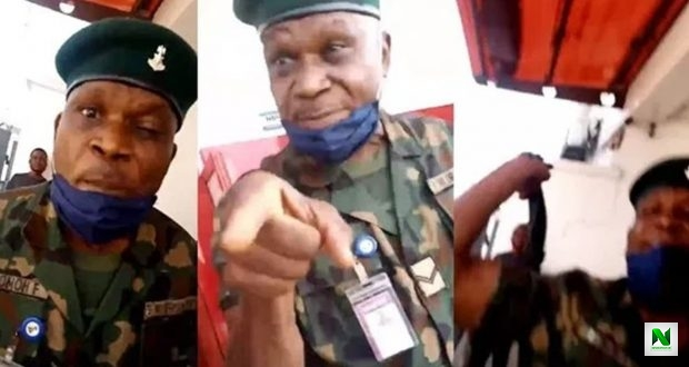 Soldier Arrested For Jumping ATM Queue, Flogging Bank Customer