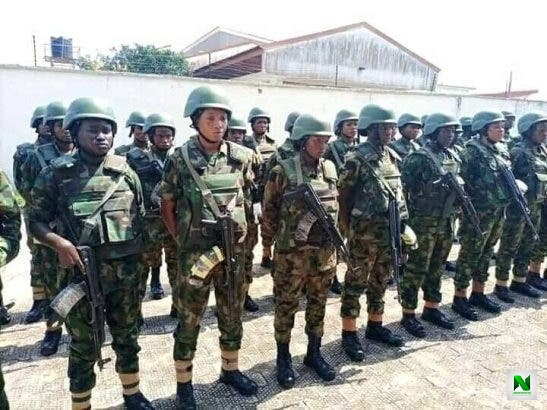 Female Soldiers Deployed To Anambra To Restore Normalcy (Photos)