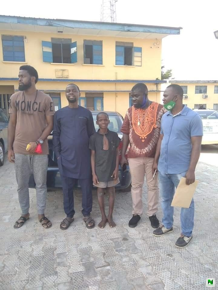 """My Dream Is To Become IGP"" – Boy Arrested In Edo Over Police Station Attack And Declaring Himself IGP Says After His Release"