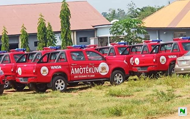 Amotekun Arrests Six Suspected Looters In Ondo