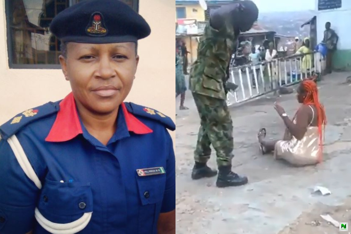 """Is This Uniform Different From The One I am Wearing, What kind of brutality is this?"" – Fellow Officer Reacts To Video Of A Soldier Beating A Woman"