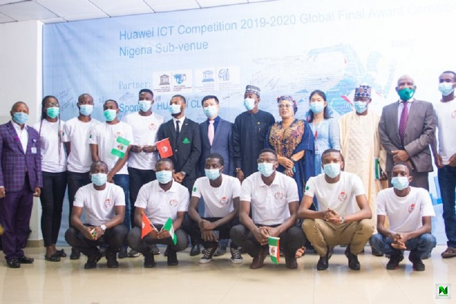 Team Nigeria Emerges Overall Winner In Huawei Global Competition (Photos)