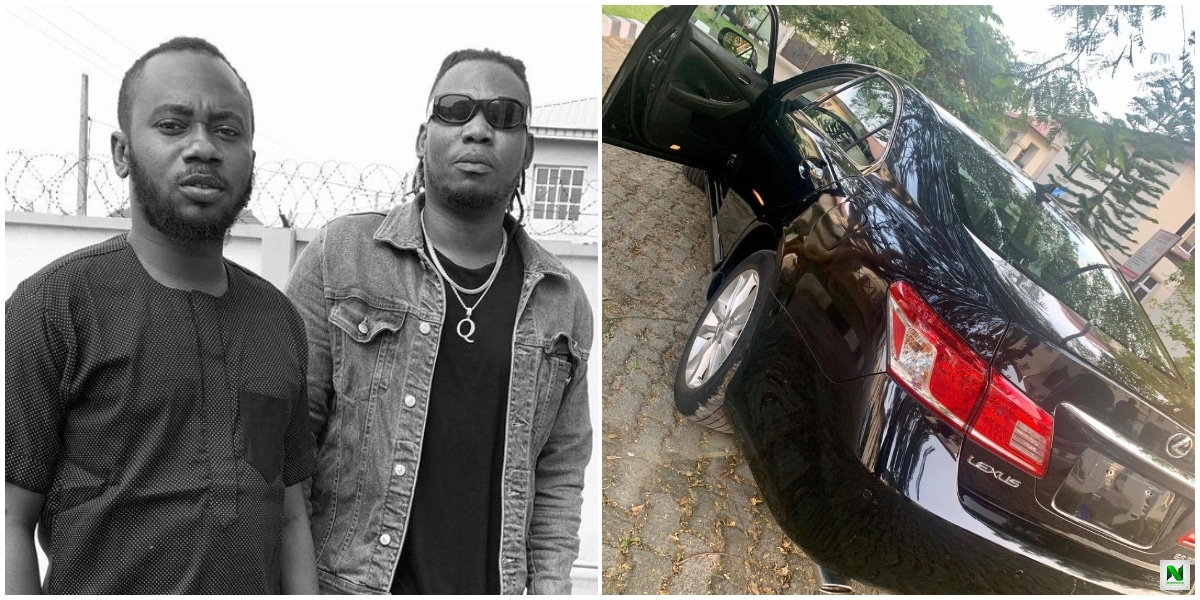 Singer Qdot Buys A New Car For His 'Workaholic' Manager On His Birthday (Photo)