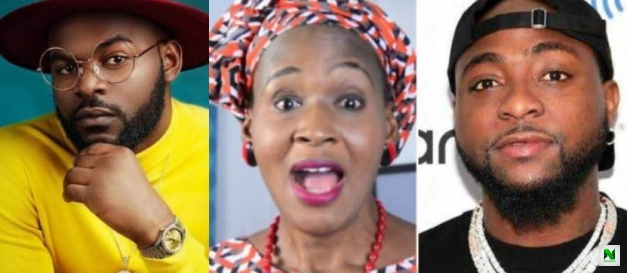 Kemi Olunloyo Declares Support For Falz And Davido To Run As President Of Nigeria