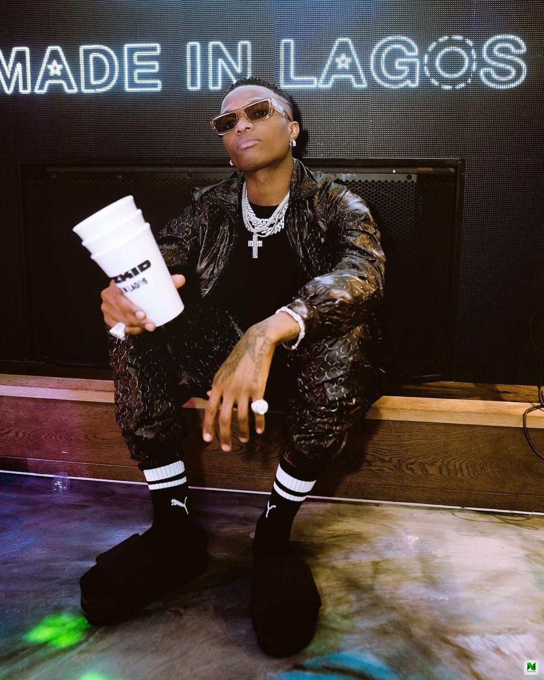Wizkid's 'Made In Lagos' Becomes Nigeria's Highest Charting Album On US Itunes